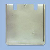 Stainless steel sign support with hook cm 30x30 for all models of the series  1051-1052-1053
