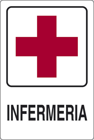 Eccezionale Cartello INFERMERIA   Pixlemon VA82