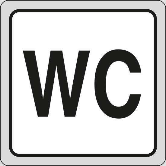 Cartello Wc Pixlemon