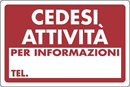 cartello cedesi attivit per informazioni tel pixlemon