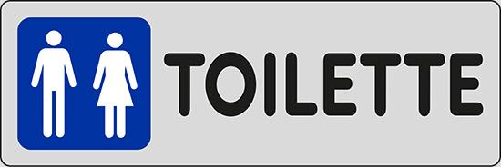 Cartello TOILETTE (uomini e donne) | Pixlemon