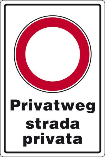 Cartello privatweg strada privata pixlemon for Strada privata