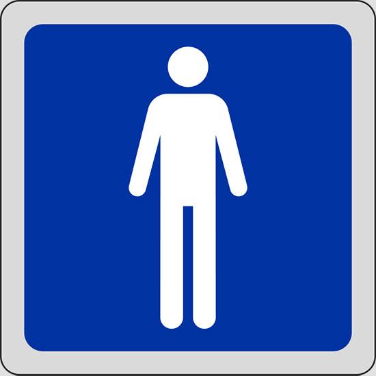 Cartello toilette uomini pixlemon - Foto de toilette ...