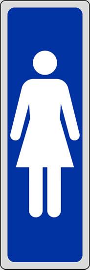 Toilette Per Donne: Segnaletica aziendale e di reparto.